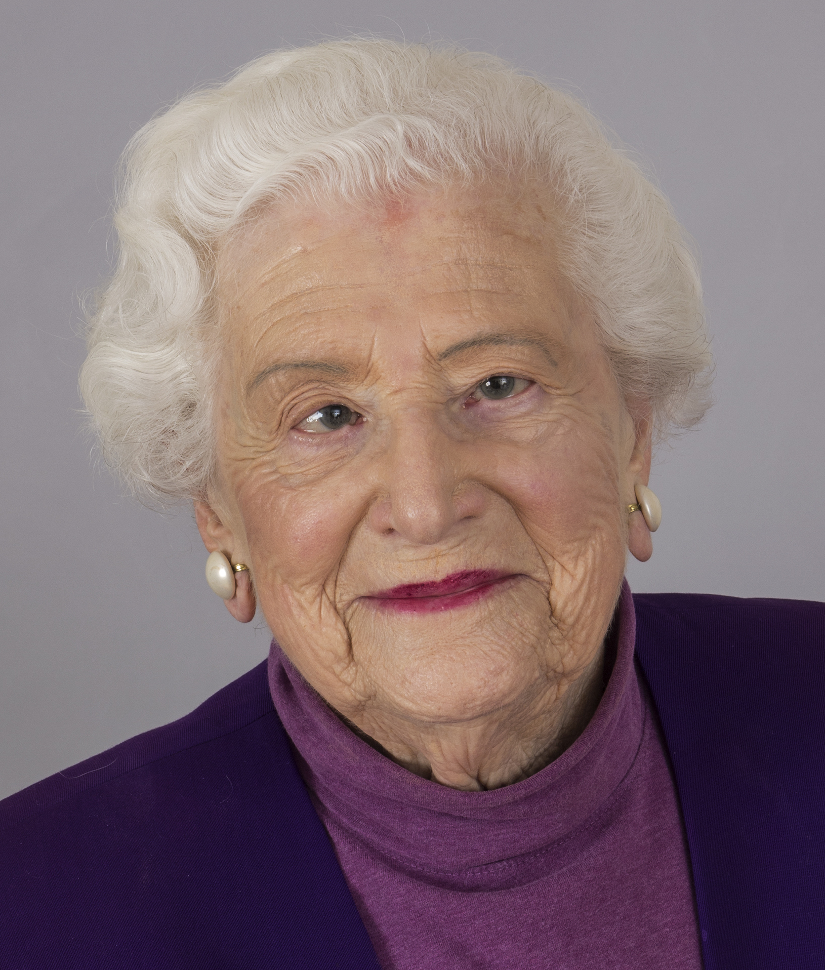 Portrait of Professor Emerita Dorothy Rice
