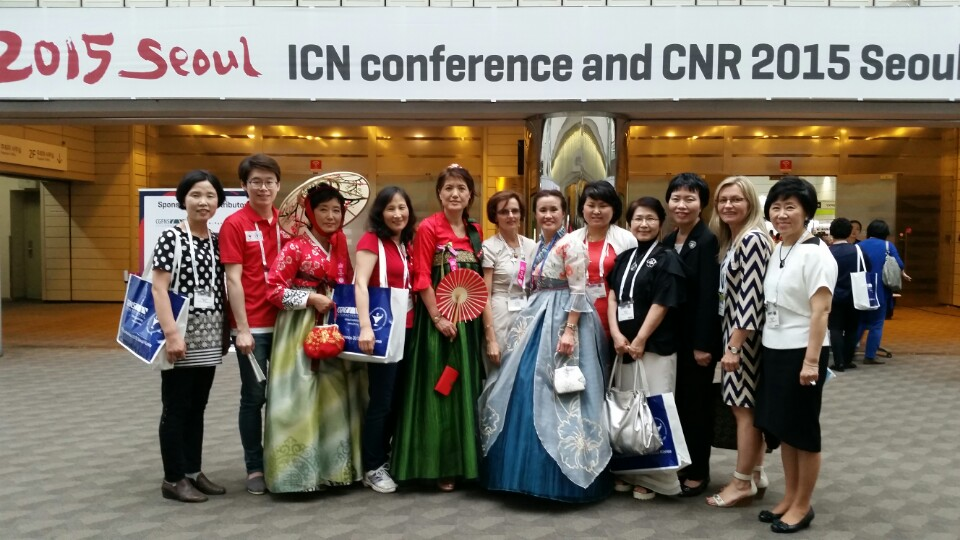 ICN conference attendees gather for the opening in Seoul