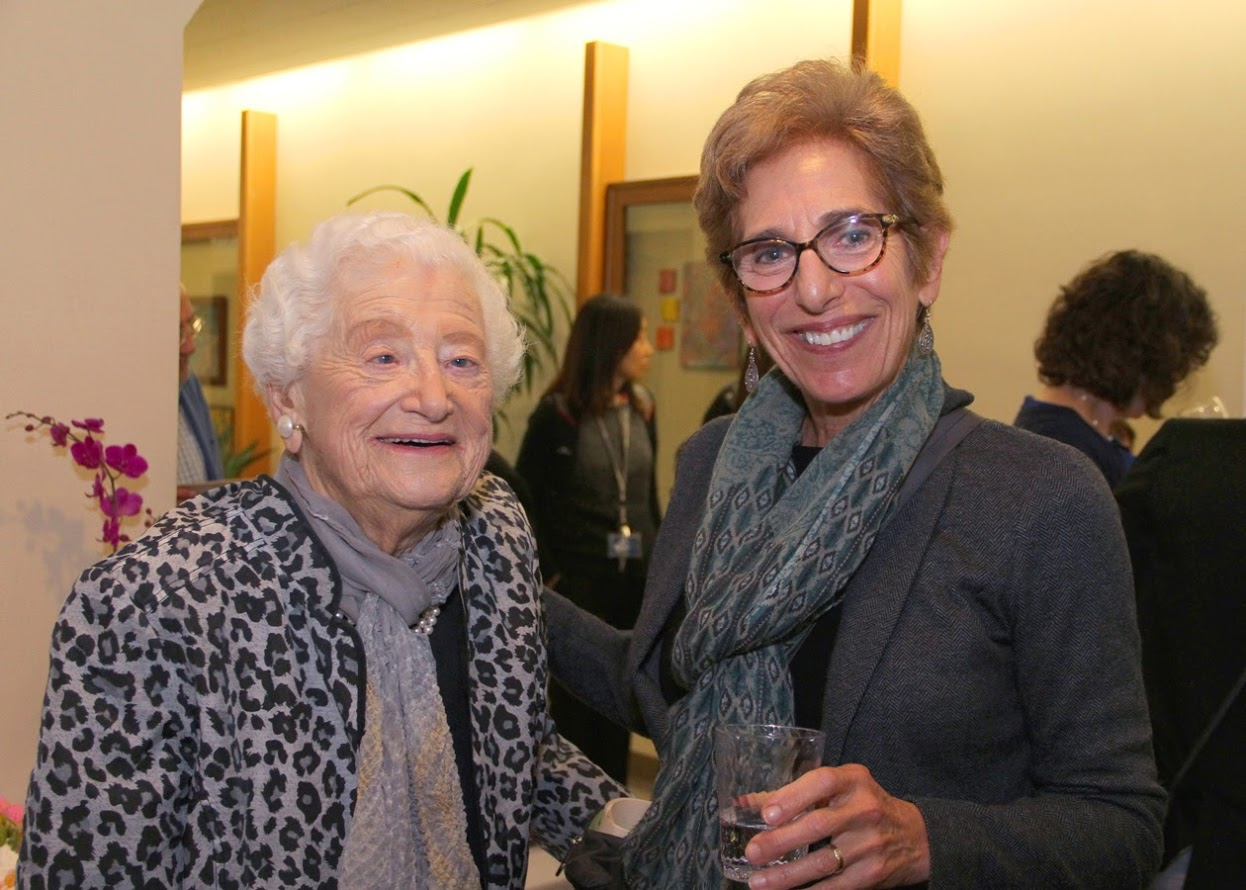 Professors Emerita Dorothy Rice and Sharon Kaufman. IHA faculty produce groundbreaking work on topics ranging from Social Security and Medicare to long-term care, Alzheimer's disease, and the societal costs of tobacco, alcohol, and drug use.