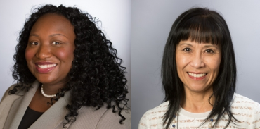 headshots of Drs. Asiodu and Bender