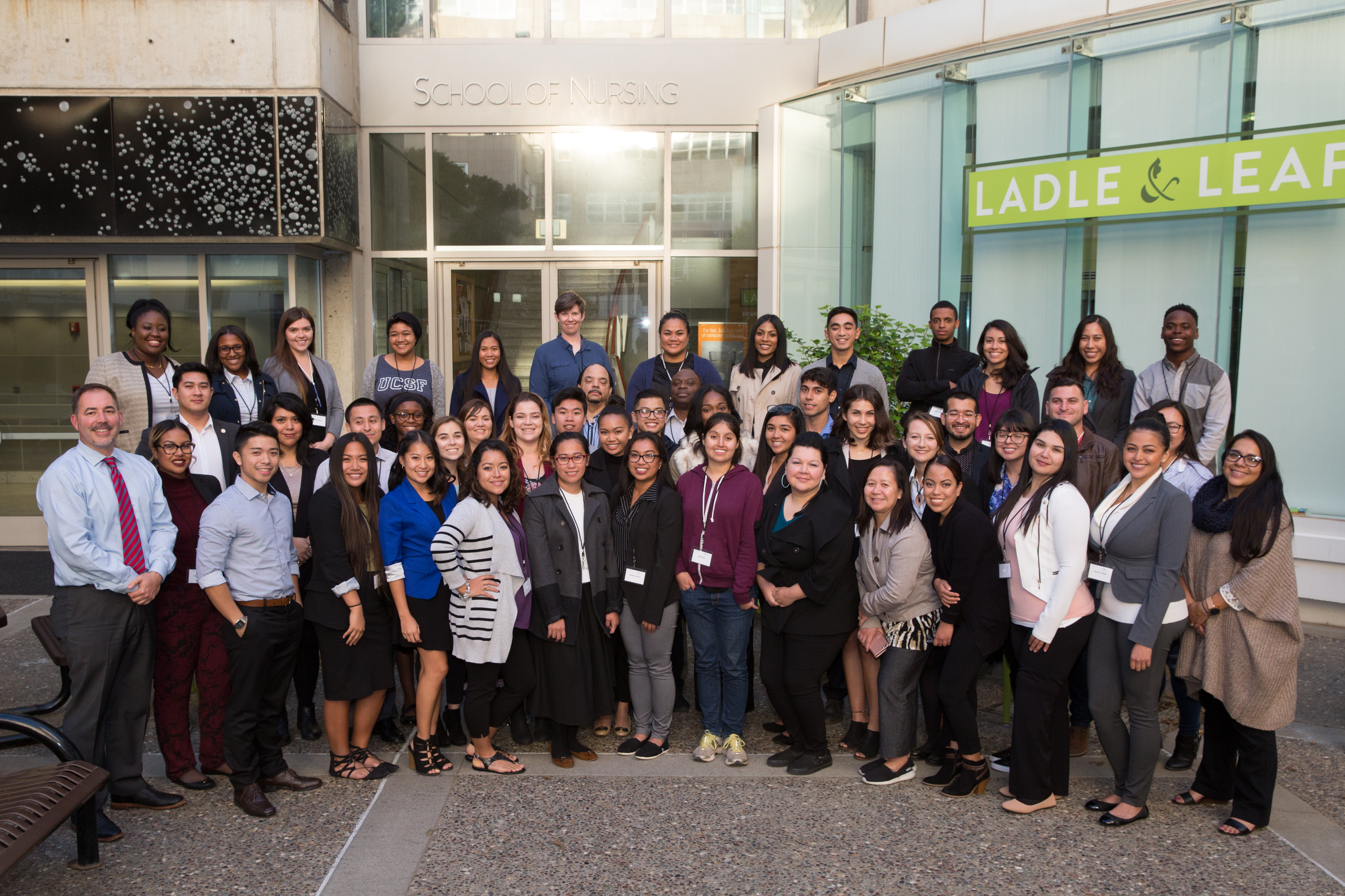 Nursing Leaders of Tomorrow Group Shot